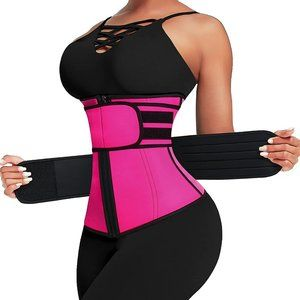 🔥Waist Trainer Stomach Wraps for Weight Loss Wasit Shaper Trimmer Belt
